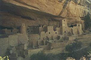 Cliff Palace im Mesa Verde National Park